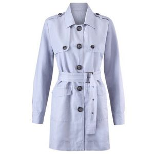 Cabi blue trench coat!